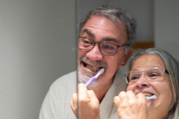 Brush your teeth twice daily